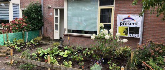Stichting Present Alkmaar start project Sociaal Tuinieren met pilot