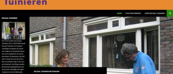 Weblog historisch archief Sociaal Tuinieren Amsterdam 2011-2020