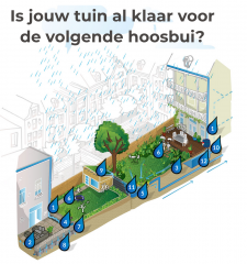 Samenwerking Sociaal Tuinieren met Amsterdam Rainproof