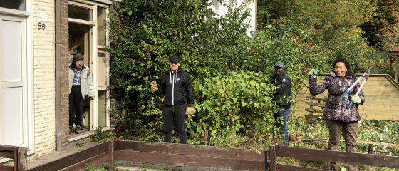 Coronaproof Sociaal Tuinieren en Groene Vingers in Amsteldorp