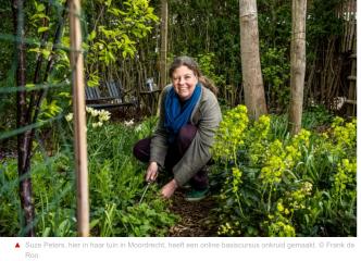 Wat te doen met onkruid? Online cursus van Sociaal Tuinieren tuinontwerper Suze Peters