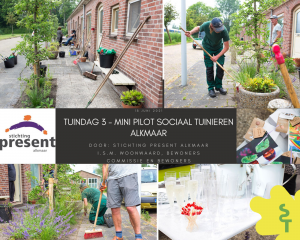 Derde tuindag in Alkmaar een groen succes