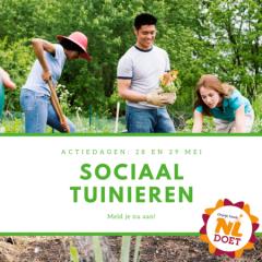 Start Sociaal Tuinieren in Dordrecht tijdens NLdoet